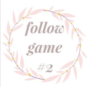NEW FOLLOW GAME!!